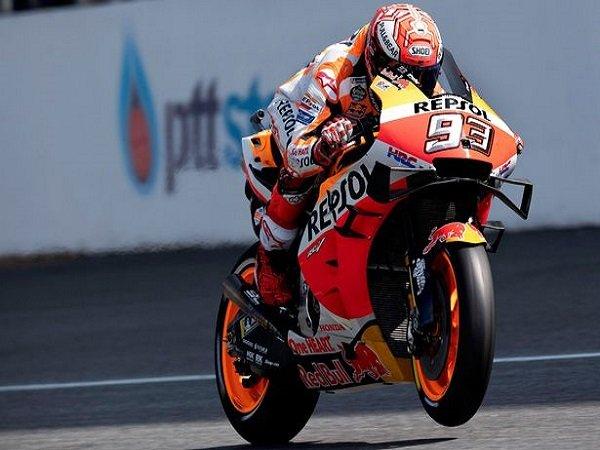 Marquez Ungkapkan Alasannya Tampil Ngotot di GP Thailand