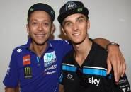 Meski Gagal, Rossi Puas Lihat Sang Adik Menang di Moto2 Thailand