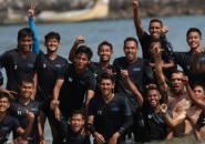 Gembleng Fisik, Skuat Persela Berlatih di Pantai
