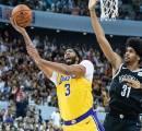 Anthony Davis Cedera, Lakers Kembali Tumbang Dari Nets