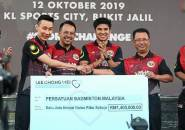 Lee Chong Wei Donasikan 6,7 Miliar Rupiah untuk Persiapan Malaysia ke Olimpiade