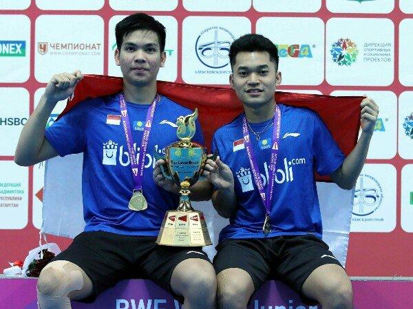 Kejuaraan Dunia Junior 2019: Leo/Daniel Sabet Gelar Juara Dunia Junior