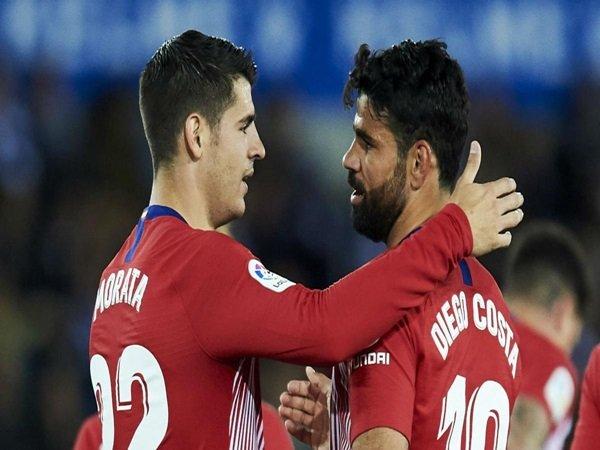 Belum Produktif, Simeone Tetap Dukung Penuh Costa dan Morata