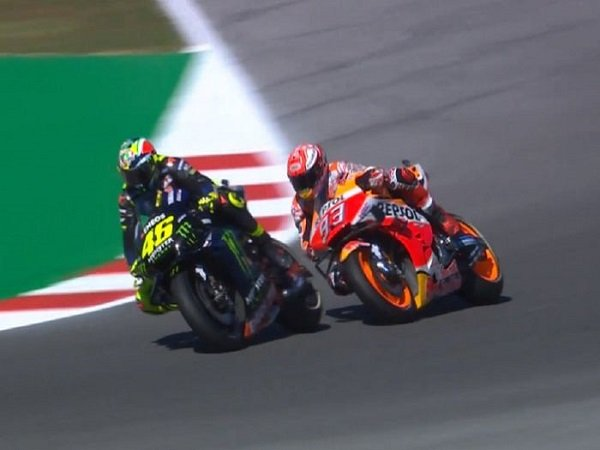 Dovizioso Masih Anggap Rossi Lebih Hebat Ketimbang Marquez