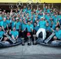 Hamilton Sebut Gelar Konstruktor Mercedes di F1 2019 Kurang Berkesan