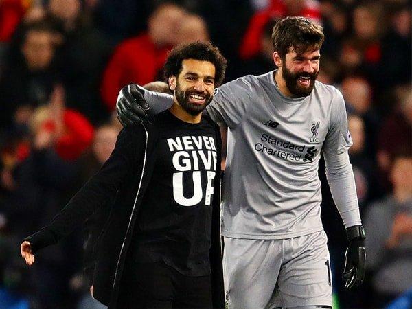 Lawan MU, Liverpool Diperkuat Alisson dan Salah