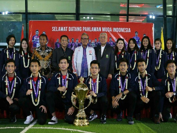 Sukses Boyong Piala Suhandinata, Tim WJC Disambut Meriah
