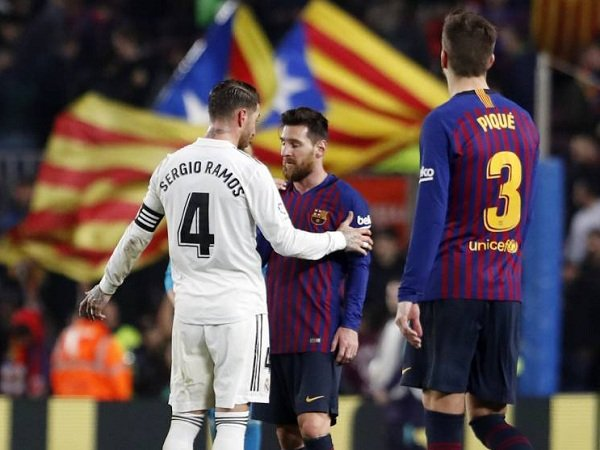 Rusuh di Barcelona, La Liga Minta El Clasico Jilid Pertama Dipindahkan ke Santiago Bernabeu