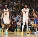 Duet Davis-LeBron Bawa Lakers Kembali Menang Lawan Warriors di Laga Pramusim