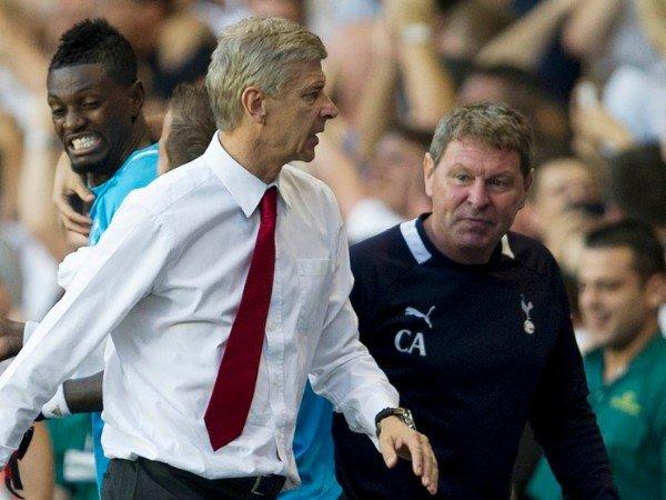 Mantan Manajer Spurs Mengaku Nyaris Pukul Arsene Wenger