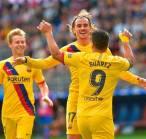 Griezmann, Messi dan Suarez Berbagi Gol dalam Kemenangan Barcelona Atas Eibar