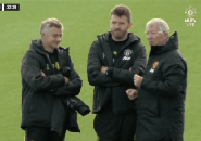 Sir Alex Ferguson Datang ke Carrington Jelang Laga Kontra Liverpool