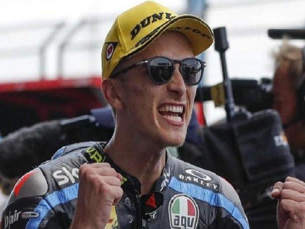 Adik Rossi, Luca Marini Menang Lagi di Moto2 Jepang