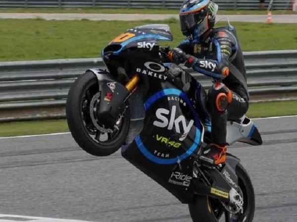 Meski Gagal Finis, Rossi Tetap Senang Lihat Sang Adik Juara Moto2 Jepang