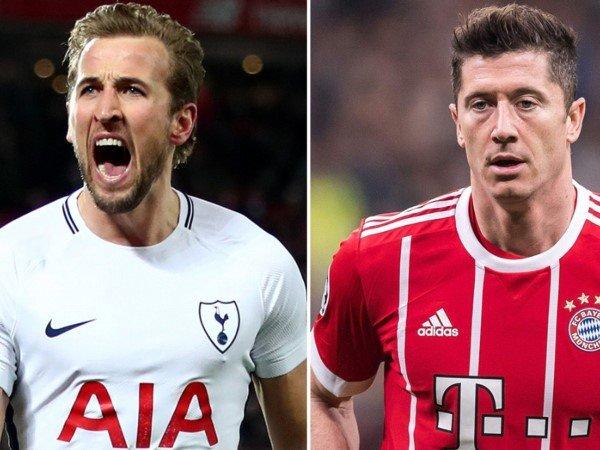 Semakin Produktif, Bek Southampton Sebut Kane dan Lewandowski Striker Terbaik