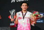 Kento Momota Juara Denmark Open 2019
