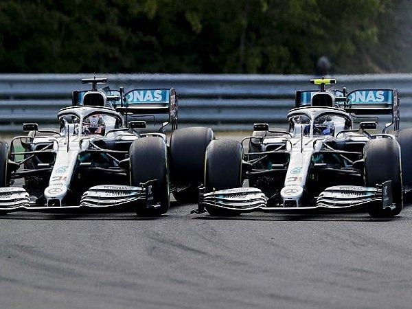 Soal Gelar Juara, Mercedes Beri Hamilton dan Bottas Kesmpatan yang Sama