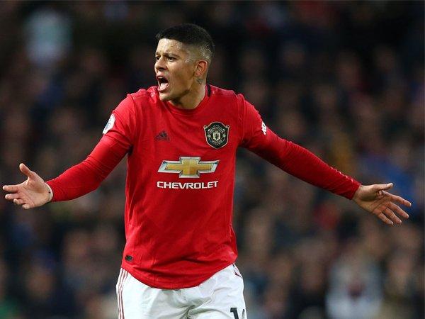 Marcos Rojo Tegaskan Dirinya Bahagia di Manchester United