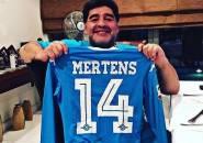 Maradona Desak Napoli untuk Segera Ikat Mertens dengan Kontrak Baru