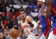 Trae Young Bawa Atlanta Hawks Menang Atas Detroit Pistons