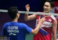 French Open 2019: Kandas di Tangan Anthony Ginting, Kemenangan Beruntun Momota Berakhir