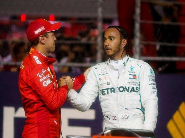 Hamilton Wurung Targetkan Klaim Gelar Juara F1 2019 di Meksiko Karena Ferrari