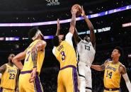 Berkat Anthony Davis, Lakers Menang Telak Atas Grizzlies