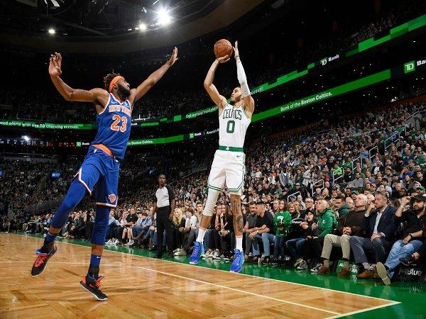 Jayson Tatum Bawa Celtics Menang Atas Knicks