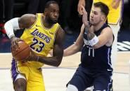 Sengit, Lakers Menangi Drama Overtime Kontra Mavericks