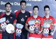 Kevin/Marcus & Ahsan/Hendra Unggulan Teratas Suzhou China Open Super 750