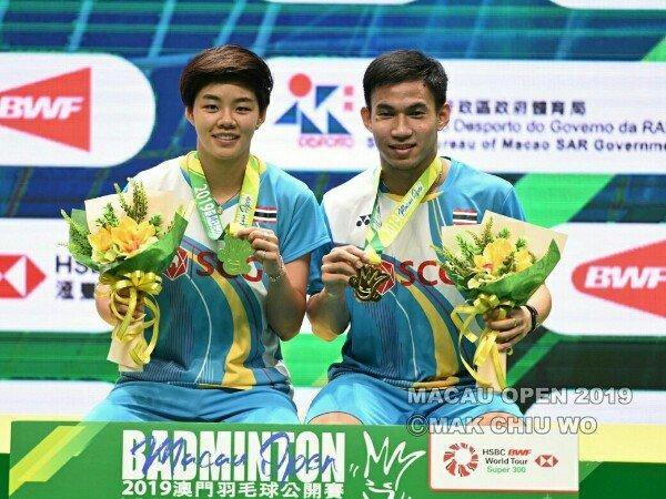 Hasil Final Macau Open 2019: Thailand dan China Raih Dua Gelar