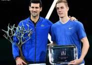 Kandaskan Denis Shapovalov, Novak Djokovic Juara Paris Masters Untuk Kali Kelima