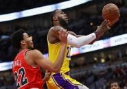 Sempat Melempem di Paruh Pertama, Lakers Bangkit dan Kalahkan Bulls