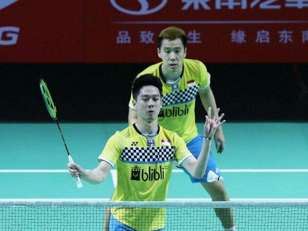Fuzhou China Open 2019: Kevin/Marcus Tumbangkan Ganda China