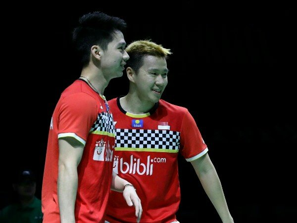 Fuzhou China Open 2019: Atasi Ganda Putra Jerman, Kevin/Marcus ke Semifinal