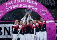 Hasil Fed Cup: Setelah 16 Musim, Perancis Akhiri Puasa Gelar