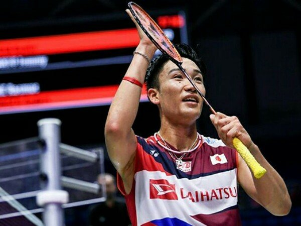 Kento Momota vs Chou Tien Chen di Final Fuzhou China Open 2019