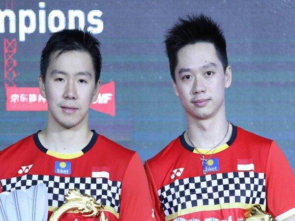 Kevin/Marcus Pertahankan Gelar Juara China Open 2019