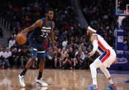 Minnesota Timberwolves Sukses Curi Kemenangan Dari Markas Detroit Pistons