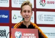 De Jong Optimis dengan Kans Belanda Lolos ke Euro 2020