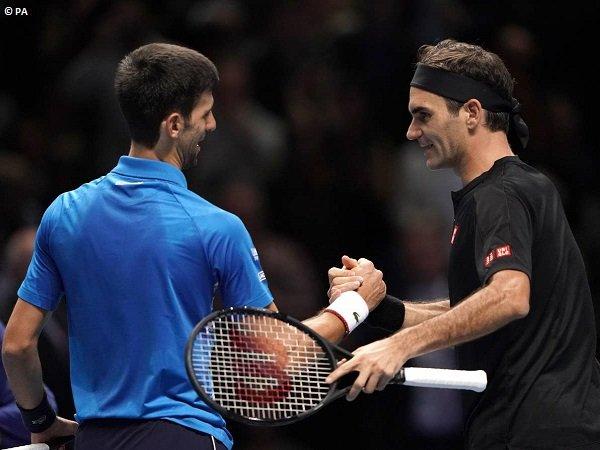 Tekuk Novak Djokovic, Roger Federer Terkualifikasi Ke Semifinal Di London