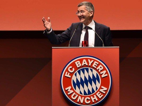 Herbert Hainer Resmi Jadi Presiden Bayern Munich Gantikan Rummenigge