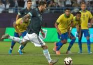 Messi Cetak Gol Pertama ke Gawang Brasil Setelah Tujuh Tahun
