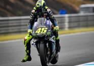 Rossi Tegaskan Tak Alami Cedera Usai Terjatuh di Sesi Latihan Bebas Hari Pertama GP Valencia