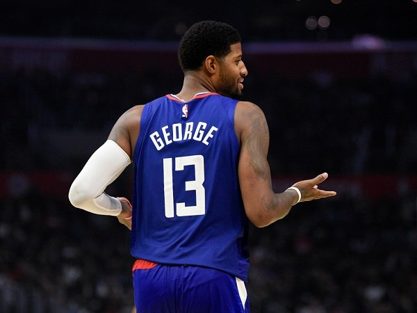 Cetak 37 Poin, Paul George Bawa Clippers Menang Telak Atas Hawks