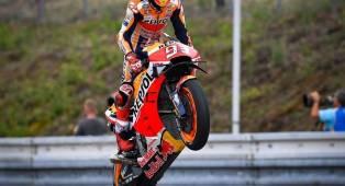 Hasil Race MotoGP Valencia: Marquez Tutup Musim Dengan Kemenangan Manis