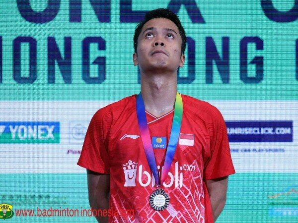 Hong Kong Open 2019: Meski Marah dengan Keputusan Wasit, Anthony Ginting Terima Kekalahan