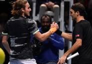 Perebutkan Tiket Menuju Final Di London, Stefanos Tsitsipas Lumpuhkan Roger Federer