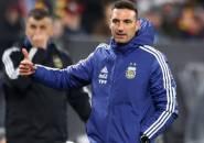 Kalahkan Brasil, Lionel Scaloni Puji Sikap Pemain Argentina