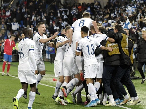 Kalahkan Liechtenstein, Finlandia Lolos ke Euro 2020